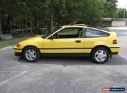 1991 Honda CRX for Sale