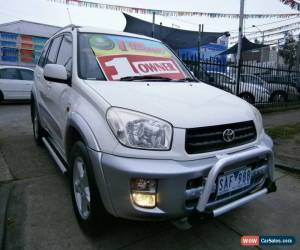 Classic 2002 Toyota RAV4 ACA21R Cruiser (4x4) White Automatic 4sp A Wagon for Sale