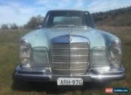 MERCEDES BENZ 280SE SEDAN AUTO DECEASED ESTATE NO RESERVE  for Sale