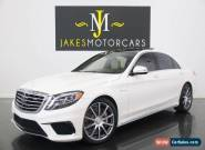2015 Mercedes-Benz S-Class S63 AMG Sedan ($156K MSRP) for Sale