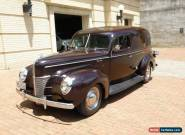 1940 Ford Deluxe Sedan Delivery Model 78 for Sale