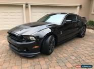 2013 Ford Mustang GT500 for Sale
