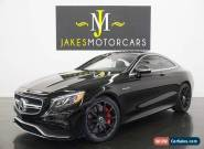 2015 Mercedes-Benz S-Class S63 AMG Coupe ($180K MSRP) for Sale