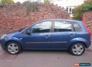 FORD FIESTA 1200cc ZETEC BLUE 5 X DOOR WITH M.O.T for Sale