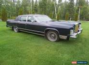 Lincoln: Continental for Sale