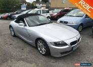2006 BMW Z4 Convertible 2.5si 218 Sport 6Spd Petrol silver Manual for Sale
