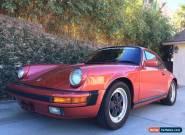 1986 Porsche 911 3.2 Carrera for Sale
