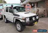 Classic 2009 Toyota Landcruiser VDJ76R GXL (4x4) White Manual 5sp M Wagon for Sale