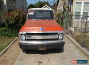 1970 Chevrolet Other Pickups Custom Camper for Sale