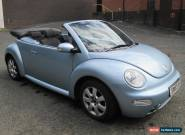 2004 VOLKSWAGEN BEETLE CONVERTIBLE 2.0 FULL MOT ALLOYS F/S/H A/C for Sale