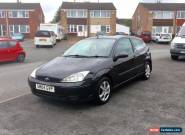 Ford Focus - 1.6 Petrol, MOT'd January, NO RESERVE  for Sale