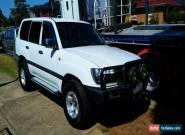 2003 Toyota Landcruiser HDJ100R Upgrade (4x4) White 5sp M for Sale