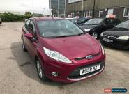 2009 Ford Fiesta Hatch 5Dr 1.4 96 Zetec 5 Petrol red Manual for Sale