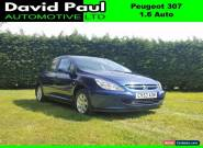 Peugeot 307 1.6 16v ( a/c ) auto 2003MY S for Sale