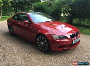 2010 BMW M3 V8/DCT COUPE MELBOURNE RED/TAN 72K MLS WITH FULL SERVICE HISTORY for Sale