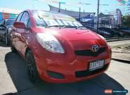 2010 Toyota Yaris NCP90R 10 Upgrade YR Red Automatic 4sp A Hatchback for Sale