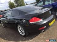 07 BMW 650I 4.8 SPORT MEGA SPEC,BLACK WITH CREAM LEATHER, SAT NAV, STUNNING CAR for Sale