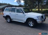 100 Series Toyota Landcruiser, Manual, Dual Fuel, 8 Seater for Sale