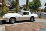 Classic 1981 pontiac transam RHD  for Sale