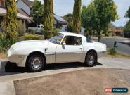 1981 pontiac transam RHD  for Sale