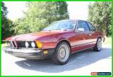 Classic 1977 BMW 6-Series for Sale