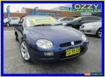 2002 MG F MY01 1.8I Blue Manual 5sp M Roadster for Sale