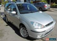 FORD FOCUS GHIA ESTATE 1.6 AUTOMATIC - 2002 METALLIC SILVER for Sale