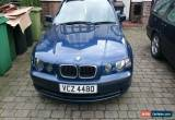 Classic 2004 BMW 316TI ES COMPACT BLUE for Sale
