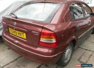 2001 VAUXHALL ASTRA LS 16V RED for Sale
