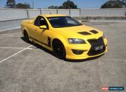 2010 Holden VE Maloo replica black edition HSV E2 R8 Automatic Utility Ute  for Sale