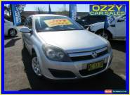 2005 Holden Astra AH MY06 CD Silver Automatic 4sp A Hatchback for Sale