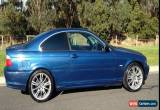 Classic BMW 323 ci, 5 SPEED MANUAL, SUNROOF, AIR CONDITIONING, M3 WHEELS, NO RESERVE  for Sale