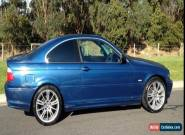 BMW 323 ci, 5 SPEED MANUAL, SUNROOF, AIR CONDITIONING, M3 WHEELS, NO RESERVE  for Sale