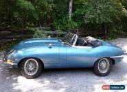 Jaguar: E-Type Series 1 for Sale