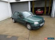 1998 RENAULT CLIO BIARRITZ GREEN for Sale