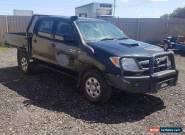 10/2005 TOYOTA HILUX SR KUN26R DUAL CAB 4WD 3.0L TURBO DIESEL MAN DAMAGED REPAIR for Sale