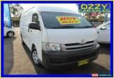 Classic 2008 Toyota Hiace KDH221R MY07 Upgrade SLWB White Manual 5sp M Van for Sale