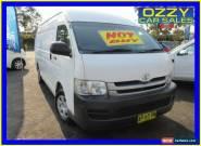 2008 Toyota Hiace KDH221R MY07 Upgrade SLWB White Manual 5sp M Van for Sale