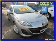 2010 Mazda 3 BL Neo Silver Manual 6sp M Hatchback for Sale