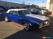 Oldsmobile : 442 Cutlass Supreme Convertible 442 Clone! for Sale