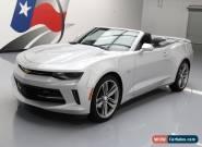 2017 Chevrolet Camaro LT Convertible 2-Door for Sale