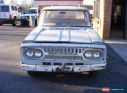Toyota Lite Stout RK43 1963-1968 Ute Collector Restorer Project for Sale