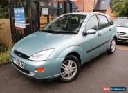 2001 Ford Focus 1.6 ZETEC 5 Door Green Great Family Car for Sale
