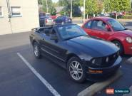 2006 Ford Mustang CONV. for Sale