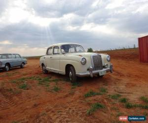 Classic MERCEDES BENZ 1958 220S ROUNDIE DRY STORED 27 YEARS LOG BOOKS VERY ORIGINAL COND for Sale