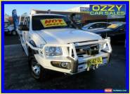 2008 Ford Ranger PJ 07 Upgrade XL (4x4) White Manual 5sp M Dual Cab Pick-up for Sale