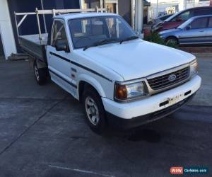 Classic 1998 FORD COURIER UTE MANUAL for Sale