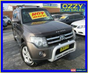 Classic 2009 Mitsubishi Pajero NT VR-X LWB (4x4) Grey Automatic 5sp A Wagon for Sale