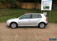 2007 07 VOLKSWAGEN GOLF 1.9 TDI MATCH SILVER for Sale