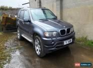 BMW X5, 4.4 V8, Sport, LPG conversion, 9 months MOT, Recent gearbox rebuild. for Sale